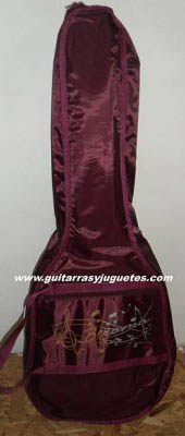 funda de requinto color vino