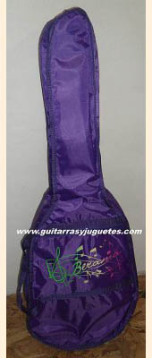 funda de requinto color violeta